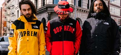 STREET STYLE - THE NORTH FACE