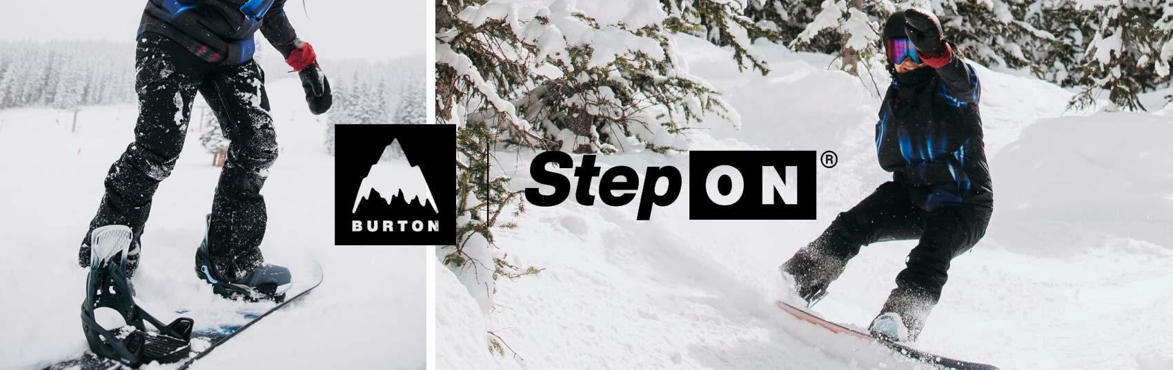 BURTON STEP ON 2022
