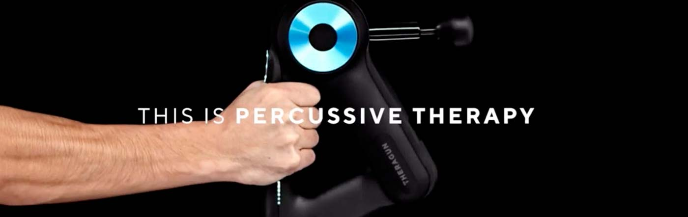 Theragun. Dispositiu professional intel·ligent de teràpia de percussió únic en el seu gènere.