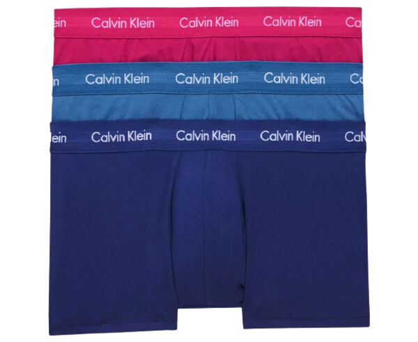 Roba Interior _BRAND_ CALVIN KLEIN _FOR_ Home. _SPORT ACTIVITY_ Casual Style, _ITEM_: LOW RISE TRUNK 3PK.