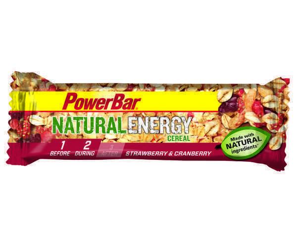 Barretes Marca POWERBAR Per Unisex. Activitat esportiva Nutrició i Cuidats, Article: NATURAL CEREAL.