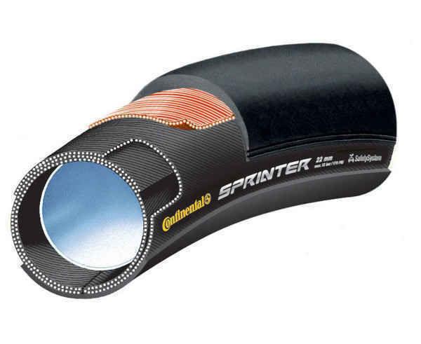 Rodes-Cobertes Marca CONTINENTAL Per Unisex. Activitat esportiva Ciclisme carretera, Article: TUBULAR SPRINTER.