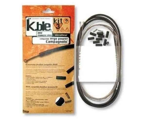 Components Marca COMET Para Unisex. Actividad deportiva BTT, Artículo: KIT CABLE CAMBIO.