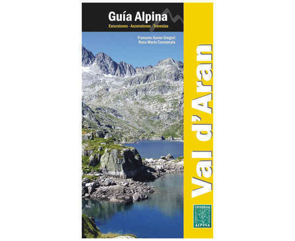Bibliografies-Cartografies Marca EDITORIAL ALPINA Per Unisex. Activitat esportiva Alpinisme-Mountaineering, Article: GUIA VALL D'ARAN.