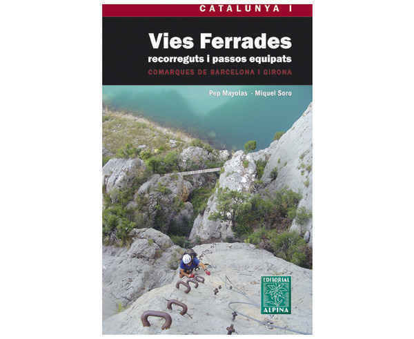 Bibliografies-Cartografies Marca EDITORIAL ALPINA Per Unisex. Activitat esportiva Trail, Article: FERRADES.