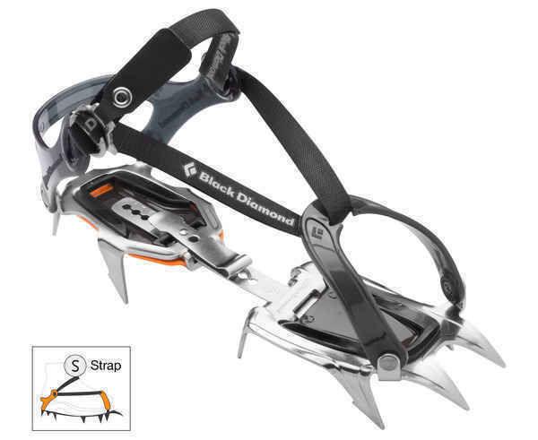 Grampons Marca BLACK DIAMOND Per Unisex. Activitat esportiva Alpinisme-Mountaineering, Article: CONTACT STRAP.