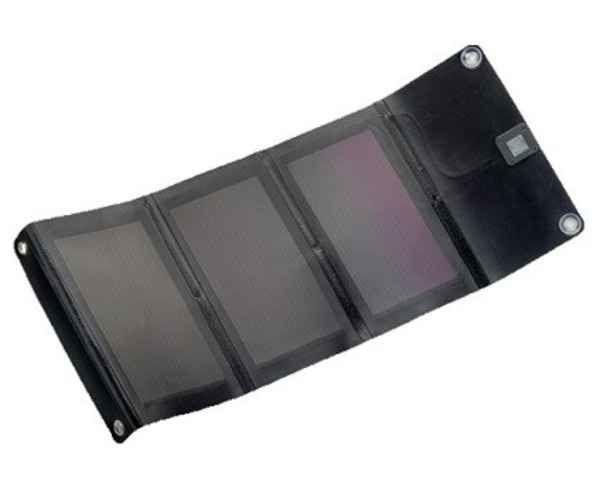 Panells Solars-Acumuladors Marca POWERTEC Per Unisex. Activitat esportiva Electrònica, Article: PANEL SOLAR 600 MA PT3 USB.
