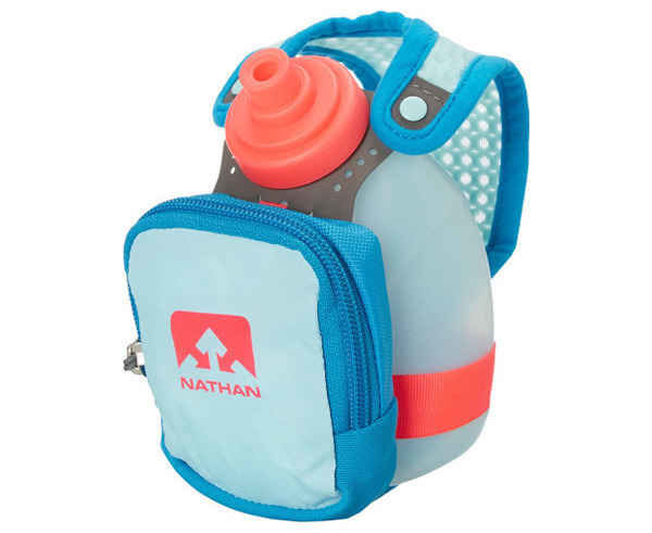 Hidratació Marca NATHAN Per Unisex. Activitat esportiva Trail, Article: QUICK SHORT PLUS.