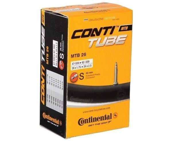 Rodes-Cobertes Marca CONTINENTAL Per Unisex. Activitat esportiva BTT, Article: CAMARA 26X1.75-2.5.