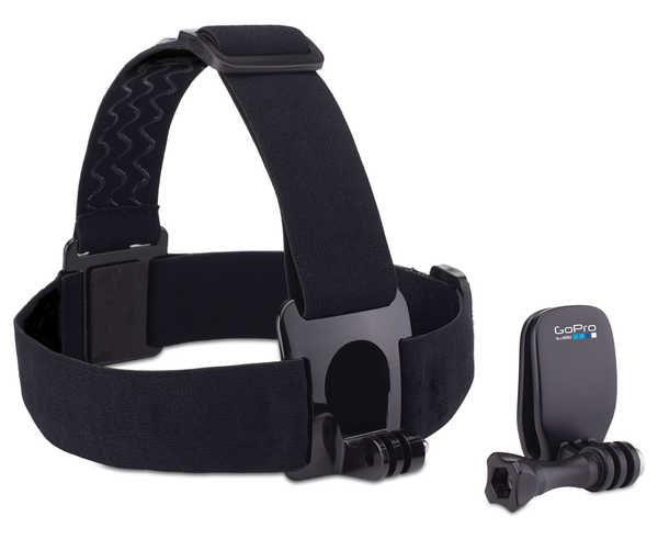Accessoris-Recanvis Marca GOPRO Per Unisex. Activitat esportiva Electrònica, Article: HEAD STRAP MOUNT + QUICKCLIP.