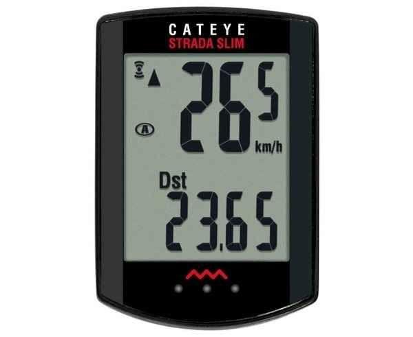 Comptaquilòmetres Marca CATEYE Para Unisex. Actividad deportiva Electrònica, Artículo: CC-RD310W STRADA SLIM.