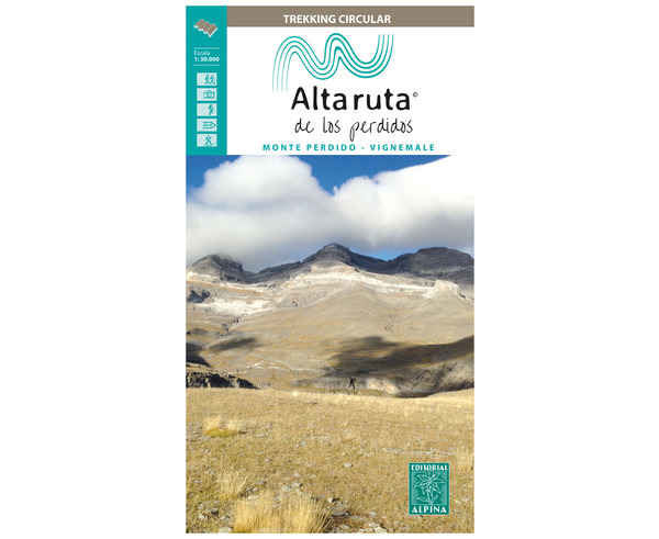 Bibliografies-Cartografies Marca EDITORIAL ALPINA Per Unisex. Activitat esportiva Trail, Article: ALTA RUTA DE LOS PERDIDOS.