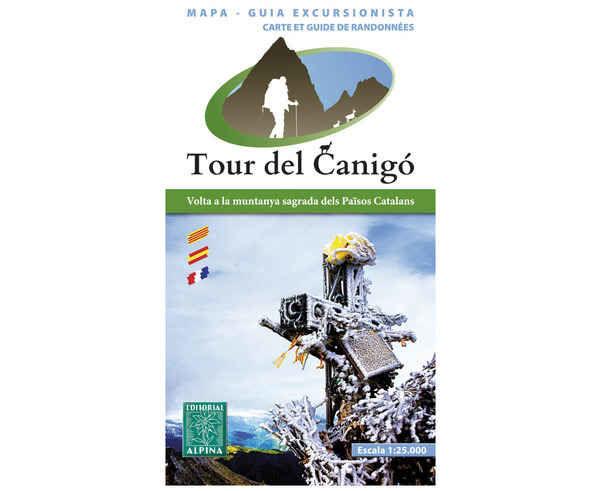 Bibliografies-Cartografies Marca EDITORIAL ALPINA Per Unisex. Activitat esportiva Trail, Article: TOUR DEL CANIGÓ.