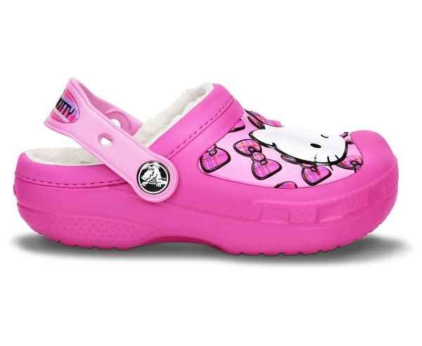 Sandàlies-Xancles Marca CROCS Per Nens. Activitat esportiva Casual Style, Article: CC HELLO KITTY BOW.