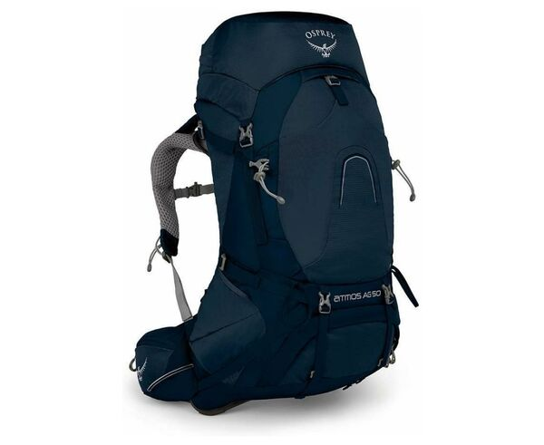 Motxilles-Bosses Marca OSPREY Per Unisex. Activitat esportiva Alpinisme-Mountaineering, Article: ATMOS AG 50.