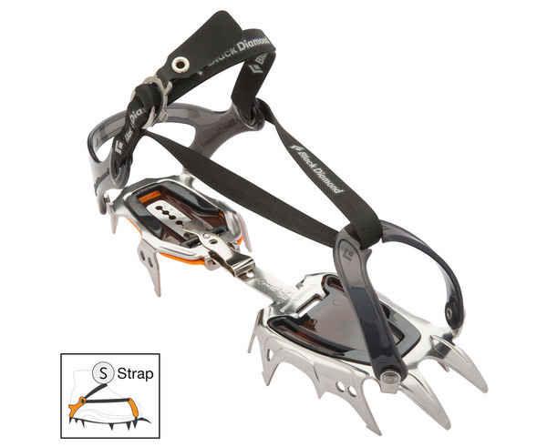 Grampons Marca BLACK DIAMOND Per Unisex. Activitat esportiva Alpinisme-Mountaineering, Article: SERAC.