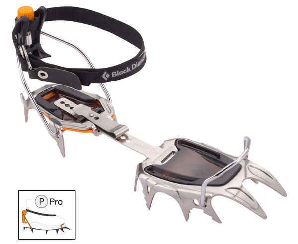 Grampons Marca BLACK DIAMOND Per Unisex. Activitat esportiva Alpinisme-Mountaineering, Article: SABRETOOTH.
