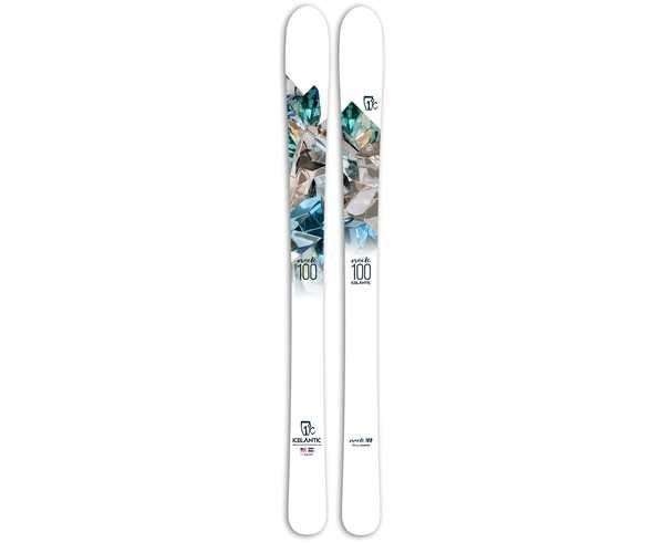 Esquís Marca ICELANTIC Para Dona. Actividad deportiva Freeski, Artículo: ORACLE 100.