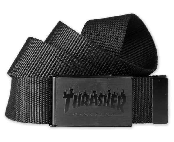 Cinturons Marca THRASHER Para Home. Actividad deportiva Street Style, Artículo: FLAME BELT BOTTLE OPENER.