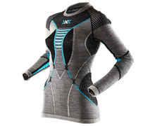 Roba Tèrmica Marca X-BIONIC Per Dona. Activitat esportiva Esquí Muntanya, Article: T-SHIRT W L/S APANI MERINO.