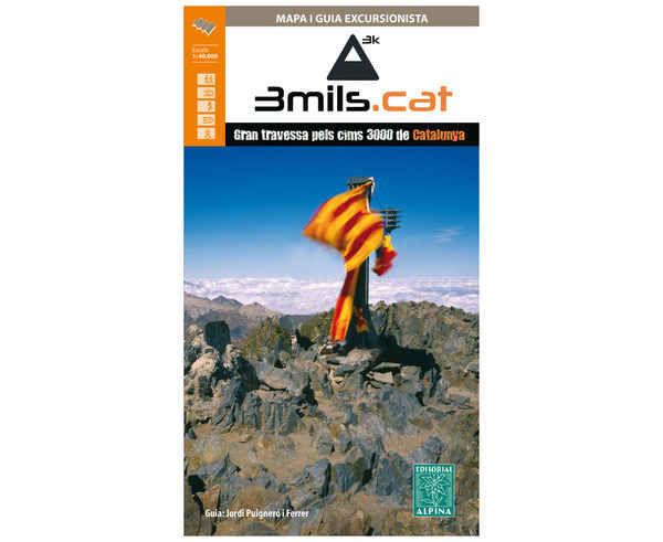 Bibliografies-Cartografies Marca EDITORIAL ALPINA Per Unisex. Activitat esportiva Trail, Article: GUIA TRES MILES CATALUNYA.