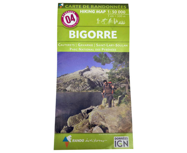 Bibliografies-Cartografies _BRAND_ IGN _FOR_ Unisex. _SPORT ACTIVITY_ Excursionisme-Trekking, _ITEM_: BAGNERES/MIDI BIGORRE GPS.