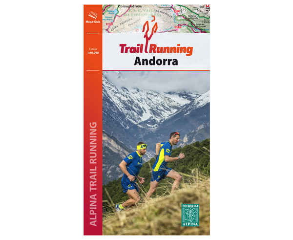 Bibliografies-Cartografies Marca EDITORIAL ALPINA Per Unisex. Activitat esportiva Trail, Article: ANDORRA TRAIL RUNNING.