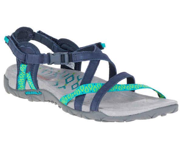 Sandàlies-Xancles Marca MERRELL Per Dona. Activitat esportiva Excursionisme-Trekking, Article: TERRAN LATTICE II.