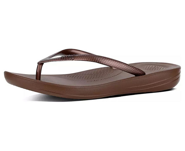 Sandàlies-Xancles Marca FITFLOP Per Dona. Activitat esportiva Casual Style, Article: IQUSHION ERGONOMIC FLIP-FLOPS.