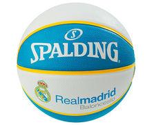 Pilotes Marca SPALDING Para Unisex. Actividad deportiva Bàsquet, Artículo: EL TEAM REAL MADRID SZ.7.