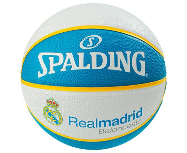 Pilotes Marca SPALDING Per Unisex. Activitat esportiva Bàsquet, Article: EL TEAM REAL MADRID SZ.7.