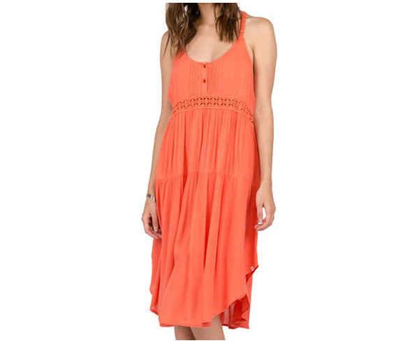 Vestits Marca VOLCOM Per Dona. Activitat esportiva Street Style, Article: SUMMIT STONE DRESS.