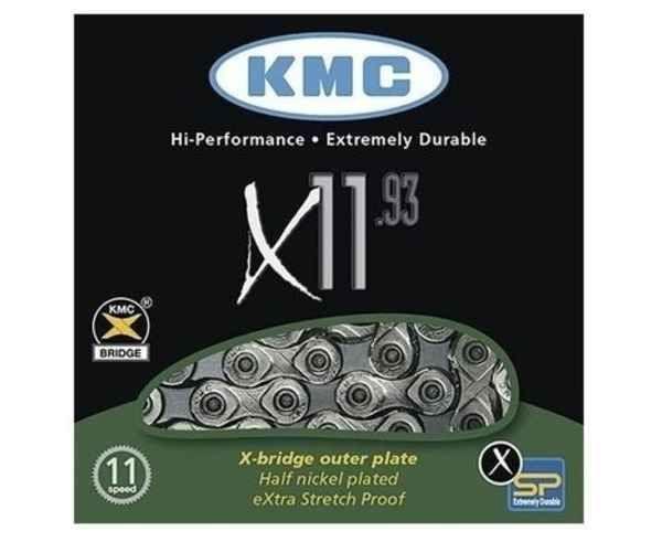 Transmissions Marca KMC Per Unisex. Activitat esportiva Ciclisme carretera, Article: CADENA X-11-93 11V.