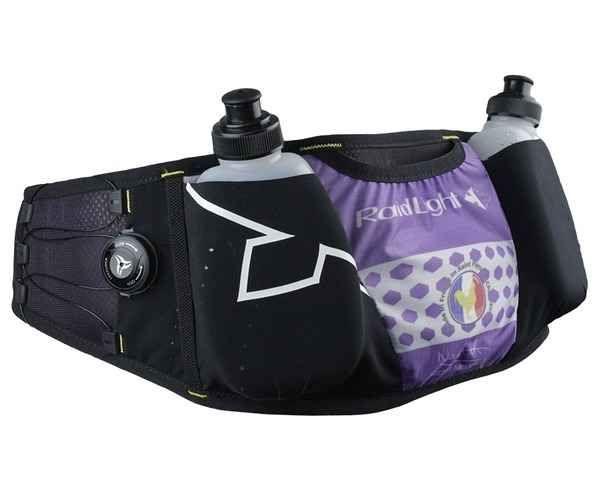 Hidratació Marca RAIDLIGHT Per Unisex. Activitat esportiva Trail, Article: CEINTURE LAZER DRY LADY + 2 FLASKS 200 ML.