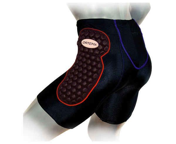 Proteccions Marca ORTEMA Per Unisex. Activitat esportiva Esquí Race FIS, Article: X-PANTS LONG PROTECTION WHITOUT INLAY.