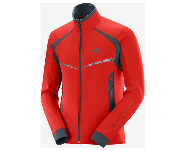 Folres Polars Marca SALOMON Per Home. Activitat esportiva Alpinisme-Mountaineering, Article: RS WARM SOFTSHELL JKT M.