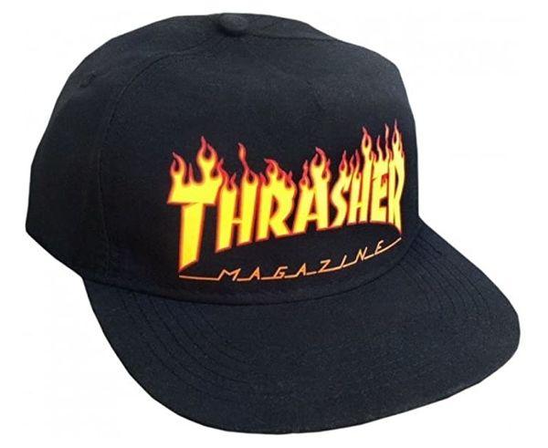 Complements Cap Marca THRASHER Para Unisex. Actividad deportiva Street Style, Artículo: FLAME SNAPBACK.
