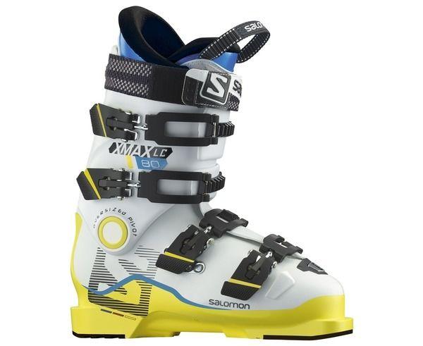 Botes Marca SALOMON Para Nens. Actividad deportiva Esquí Race FIS, Artículo: X MAX LC 80.