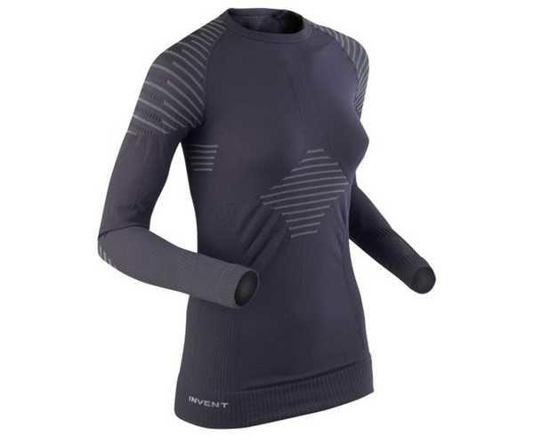 Roba Tèrmica Marca X-BIONIC Per Dona. Activitat esportiva Esquí Muntanya, Article: W'S INVENT T-SHIRT LONG SLEEVES.