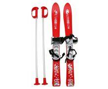 Esquís+Fixacions Marca FRENDO Per Nens. Activitat esportiva Esquí All Mountain, Article: BABY SKIS WITH POLES.