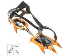 Grampons Marca BLACK DIAMOND Per Unisex. Activitat esportiva Alpinisme-Mountaineering, Article: NEVE STRAP.