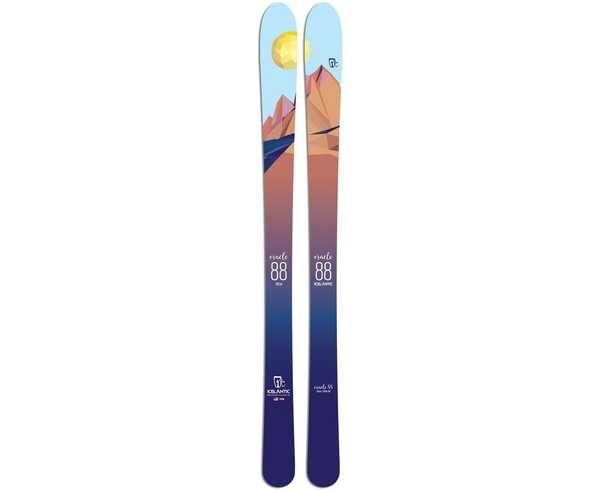 Esquís Marca ICELANTIC Para Dona. Actividad deportiva Freeski, Artículo: ORACLE 88.