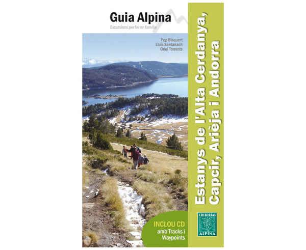 Bibliografies-Cartografies Marca EDITORIAL ALPINA Per Unisex. Activitat esportiva Trail, Article: ESTANYS ALTA CERDANYA, CAPCIR, ARIEJA, I ANDORRA.