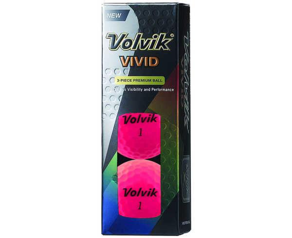 Boles Marca VOLVIK Para Unisex. Actividad deportiva Golf, Artículo: VIVID MAT COLORED BALLS DZD.