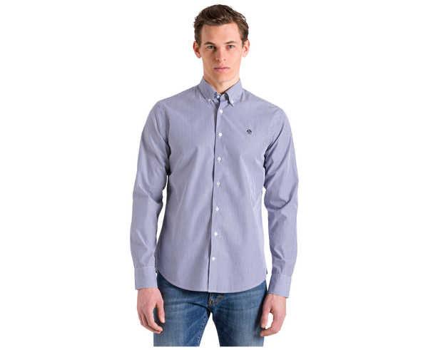 Camises Marca NORTH SAILS Para Home. Actividad deportiva Casual Style, Artículo: STRIPED OXFORD SHIRT.