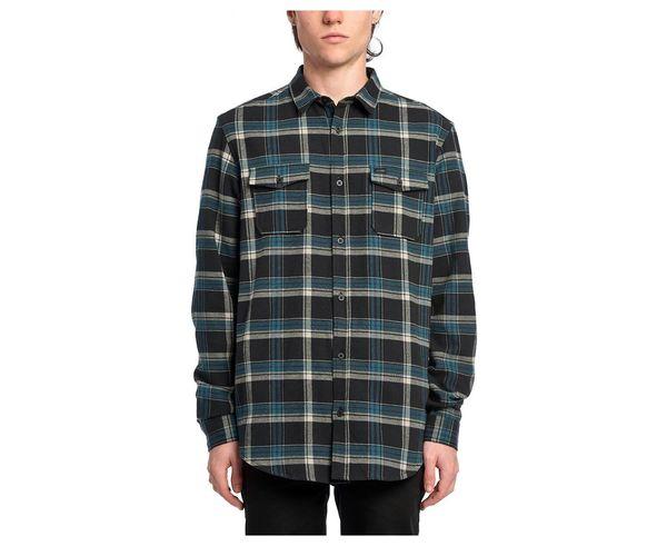 Camises Marca GLOBE Per Home. Activitat esportiva Street Style, Article: FLANIGAN LS.