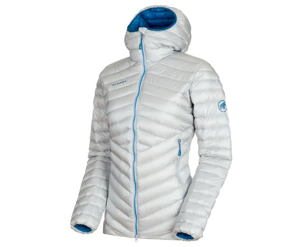 Jaquetes Marca MAMMUT Per Dona. Activitat esportiva Alpinisme-Mountaineering, Article: BROAD PEAK IN HOODED JACKET W'S.