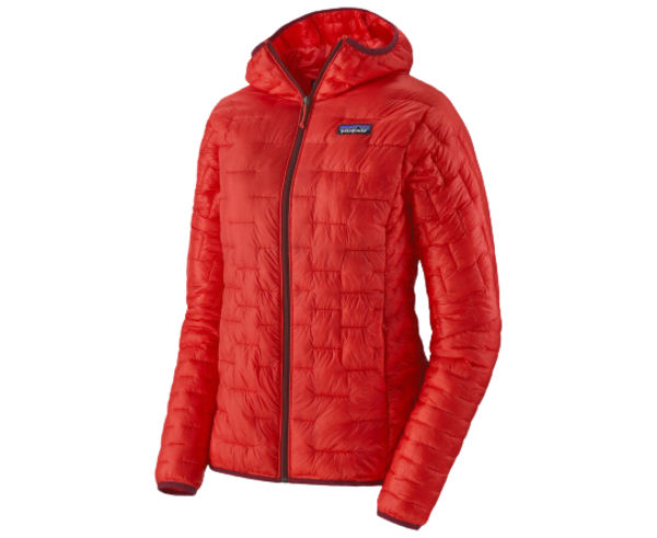 Jaquetes Marca PATAGONIA Per Dona. Activitat esportiva Alpinisme-Mountaineering, Article: W'S MICRO PUFF HOODY.