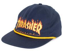 Complements Cap Marca THRASHER Per Unisex. Activitat esportiva Street Style, Article: FLAME.