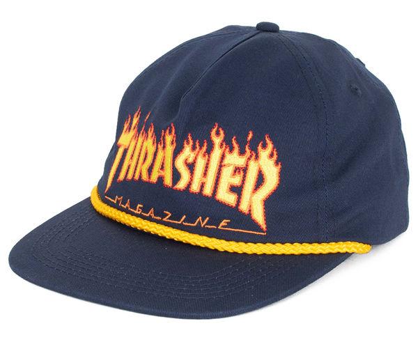 Complements Cap Marca THRASHER Para Unisex. Actividad deportiva Street Style, Artículo: FLAME.